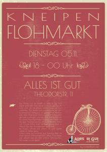 Abend-Kneipenflohmarkt 05. November 2019