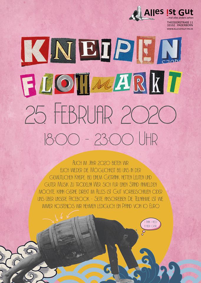 Kneipenflohmarkt 25.02.2020