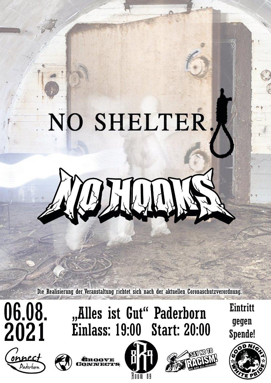 Connect Laut w. No Shelter & No Hooks @ Alles ist Gut
